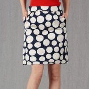 Boden pique mini skirt.